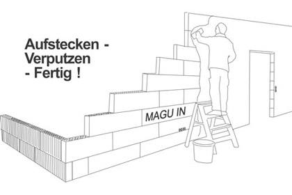 solide leichtbauwand von magu stabil und schnell eingebaut. Black Bedroom Furniture Sets. Home Design Ideas